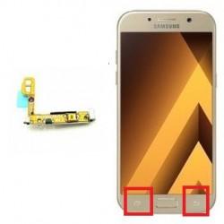 Reparar o cambiar botón de encendido Samsung Galaxy A5 (2017) A520