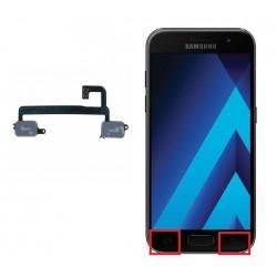 Reparar cambiar botones retroceso menu Samsung Galaxy A3