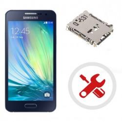 Reparar cambiar lector sim Samsung Galaxy A3 A320F