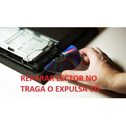 Reparar lector sony ps4 fat no traga o expulsa disco
