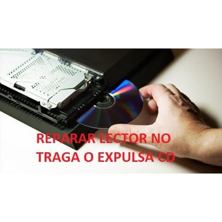 Reparar lector sony ps4 fat no traga o expulsa disco