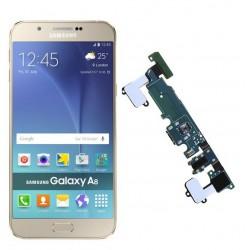 Reparar o cambiar conector carga Samsung Galaxy A8 A800F
