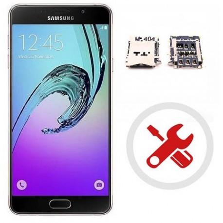 Reparar o cambiar lector de sim Samsung Galaxy A7 A710F