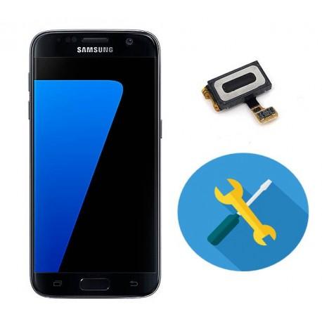 Reparar o cambiar auricular llamada samsung s7 g930f