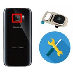 Reparacion o cambio cristal de camara Samsung S7 G930F