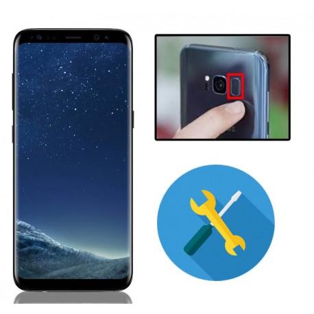 Reparar o cambiar lector de huella Samsung Galaxy S8 G950F