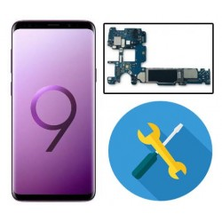 Reparar placa base S8 PLUS G955F -Se reinicia, se apaga, no enciende