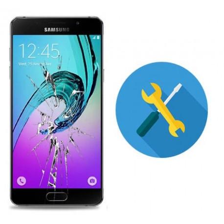 Reparar o cambiar cristal tactil Samsung Galaxy A7 A7 A700F