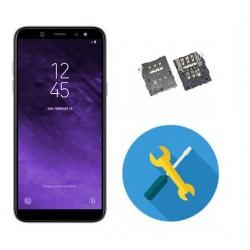 Reparar o cambiar lector sim Samsung Galaxy A6 A600
