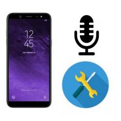 Reparar o cambiar microfono Samsung Galaxy A6 A600