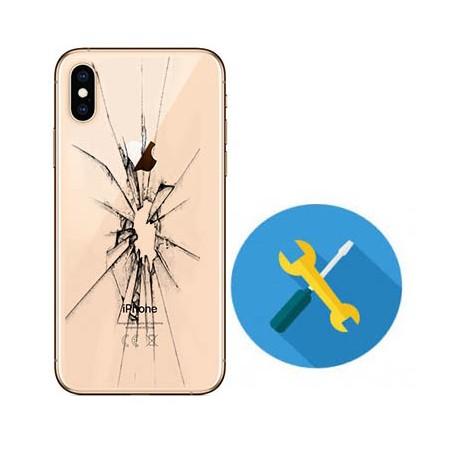 Reparar cristal de tapa trasera Iphone 8