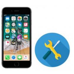 Reparacion Cambio Pantalla completa blanca Iphone 6