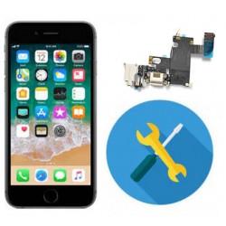 Reparacion cambio conector carga iphone 6