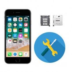 Reparar cambiar lector sim iphone 6