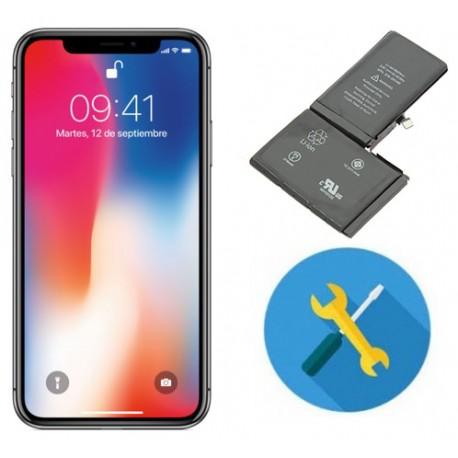 Reparar o cambiar bateria IPHONE X