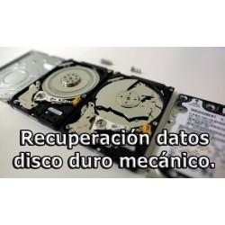 Recuperación de datos Disco duro mecánico