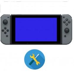 Reparacion pantalla azul Nintendo switch