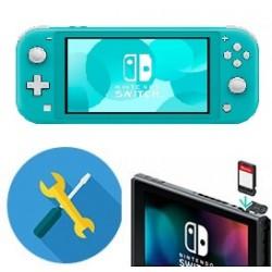 Reparar o cambiar lector o cartucho de juegos Nintendo SWITH