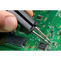 Reparar placa base portatil - Cortocircuitos, reballing, no enciende.