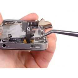 Cambio reparación botón home iphone 5c ( PORTES GRATIS )