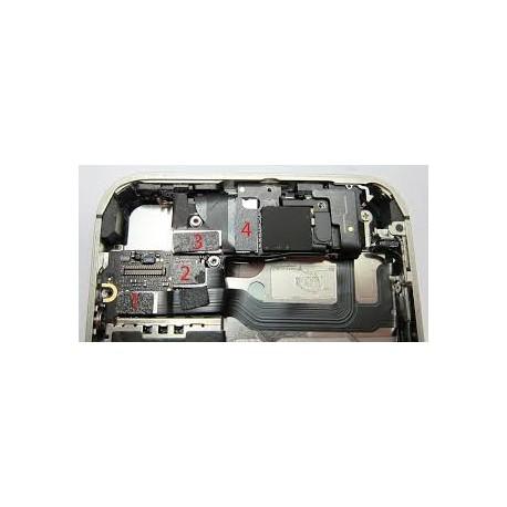 Cambio reparación camara frontal iphone 4 4g ( portes gratis )