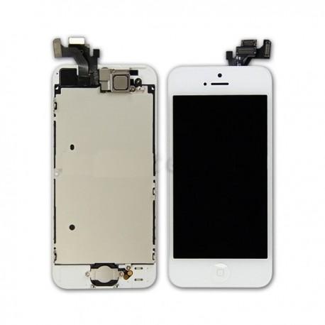 Cambio de Pantalla LCD + tactil iphone 5 blanco ( PORTES GRATIS )