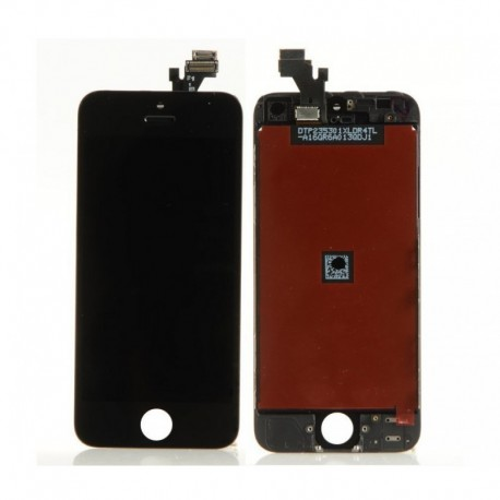 Cambio de Pantalla LCD + tactil iphone 5 negro ( PORTES GRATIS )