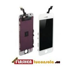Cambio de Pantalla LCD + tactil iphone 5s blanco ( PORTES GRATIS )