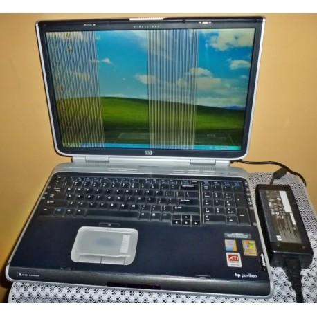 Reparar Sin imagen o rayas pantalla negra reballing