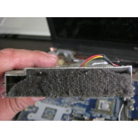 Limpieza y cambio de pasta térmica portatil