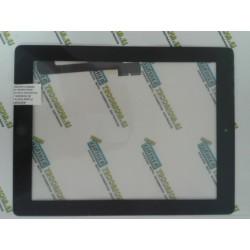 Reparación cristal táctil IPAD 3 + botón home Negro . transporte incluido