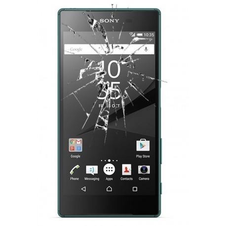 Cambiar reparar cristal Sony Xperia Z5