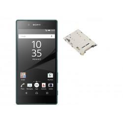 Cambiar reparar lector sim Sony xperia z5