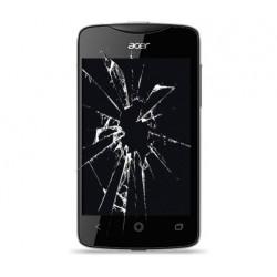Reparar cambiar pantalla lcd y cristal táctil Acer liquid Z3 Z130