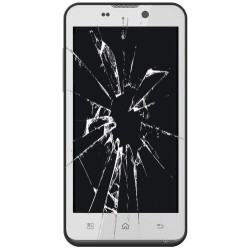 Reparación cambio LCD y cristal táctil Bq Aquaris 4.5